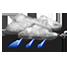 pioggia debole