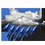 Coperto con pioggia